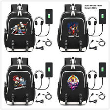 Game Undertale Student Oxford Zipper Backpack Laptop School Bags Bookbags Unisex