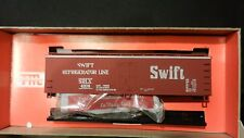 Train Miniature HO Vintage NIB Swift Billboard Wood Reefer Kit