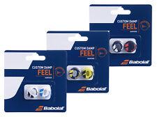 Babolat Custom Damp Vibration Shock Absorber Dampeners - Pack of 2 - Free P&P