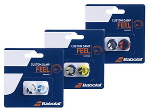 Babolat Custom Damp Vibration Shock Absorber Dampeners - Pack of 2