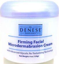 Dr. Denese Firming Facial MicroDermabrasion Cream 4 oz SuperSize SEALED Pristine