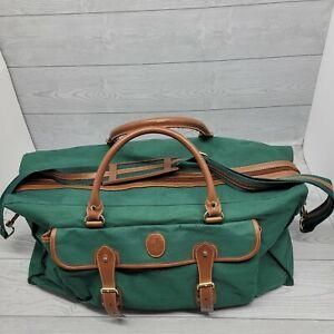 Polo Ralph Lauren Weekender Green Classic Large Duffle Bag Travel