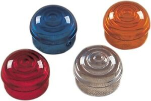 Drag Specialties Replacement Clear Lens for Chrome Marker Lights 20-6589CL-BC3