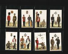 trade cards the army british regiments full set