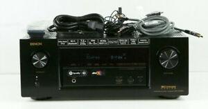 Superb Denon AVR-X3400H 7.2-Channel Network AV Receiver Bluetooth & Wifi h766