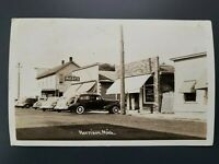 Vintage Postcard RPPC Photo Harrison Michigan 1941