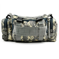 Tactical Camping Bike Sport Military Army Travel Waist Bag - Camo WS