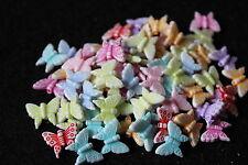Acrylique papillon perles-fabrication de bijoux-fantaisie perles-enfants bijoux