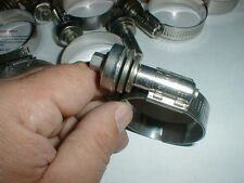 """10 NEW Heavy Duty Hose Clamps  Ideal  Flex-Gear Constant Tension  1-1/16"""" -  2"""""""