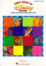 First Book Of Disney Solos Learn to Play EASY Beginner Pop Piano Music Book