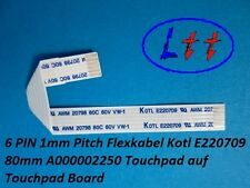 6 Pin 1mm Pitch Flexible Cable Kotl E220709 80mm A000002250 by Touchpad on Board