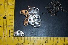 Metal Heel Plates #0 Small ~ 5 pr. (Taps)(Cleats) for Boots & Shoes, inc.s nails