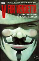 V FOR VENDETTA GN, DC Comics Graphic Novel ALAN MOORE Mint, New, Free Shipping!