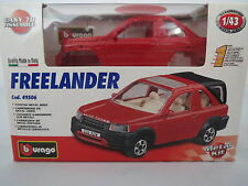 RAR: Bburago Metal Kit - Land Rover Freelander, rot, 1:43, TOP !