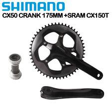 Shimano CYCLOCROSS FC CX50 Crankset Crank 175mm Sram CX1 Chainring 50T 110BCD