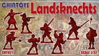 Chintoys 1/32 Landsknechts - BAGGED, NO BOX # 021