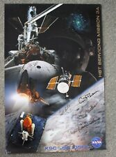 HST Servicing Mission 3A Poster - NASA - Air and Space - Hubble Space Telescope