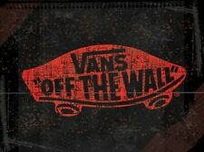 VANS OFF THE WALL Logo Black BANNER Poster Store Sign Advertising Flag