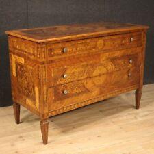 Dresser Furniture Dresser Wooden Inlaid Antique Style Louis XVI Cupboard