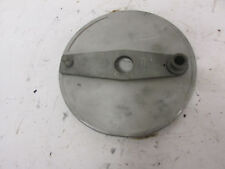 Vintage motocross CZ 250 1974 magnesium front braking plate (59F)