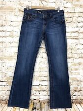 KUT From The Kloth Kate Lowrise Bootcut So Low Flap Pocket Jeans Women's 6 *read
