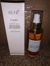 Keune Care Line Treatment Satin Oil (dull Hair) 95ml / 3.2 oz FREE SHIPPING