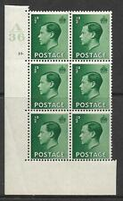 ½d Edward Viii A36 10 Dot with variety Lightly Mounted Mint in margin