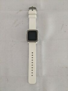 Pebble Time 9.5mm Stainless Steel White Kickstarter Edition