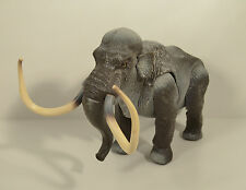 "RARE 1989 Wooly Mammoth 9"" Dinosaur Tyco Action Figure Dino Riders Ice Age"