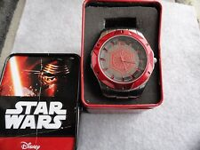 New Star Wars Rogue One Quartz Men's Watch with the Case - Big and Heavy