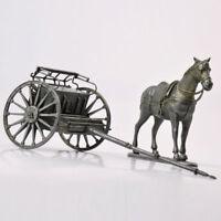 ATLAS 1/24 Scale WWI France Chariot War Horses Figure Model Toy Campagnes DE