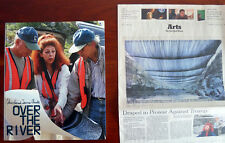 SIGNED Christo & Jeanne-Claude Over The River 2007 G Arkansas River Colorado