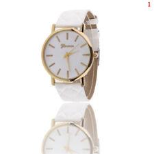 Fashion Womens Ladies Watches Geneva Faux Leather Analog Quartz Wrist Watch