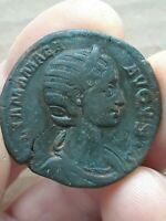 Julia Mamaea, mother of Severus Alexander A.D.222-235 AE sestertius 29mm VENVS