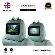 ROSEN AV7950H 7″ DVD HDMI LCD TOUCH SCREEN HEADREST MONITORS CUSTOM FINISH