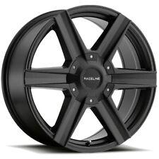 4-20 Inch Raceline 157B Phantom 20x8.5 6x135/6x139.7 +35 Gloss Black Wheels Rims