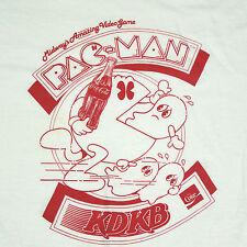 vtg 80s RARE Pac-Man Coca Cola AZ Radio Station T-Shirt XS/S 1980 Screen Star