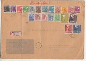 Allied Occupation 943 - 62 Satzbrief