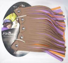 Fohawx Dreadlox Brown Purple Orange Kid Helmet Accessories NWT punkrox adhesive