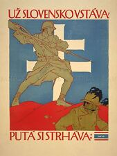 ADVERT WAR CZECHOSLOVAKIA SOLDIER RECRUIT ENLIST CZECH ART POSTER PRINT LV7209