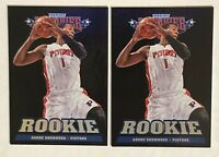2012-13 Panini Marquee ANDRE DRUMMOND RC Black Holo Rookie #256 - LOT OF 2! 🔥