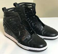 RARE Nike Dunk Sky Hi 2.0 Joli Laser Cutouts Black Women's Size 8.5 Excellent
