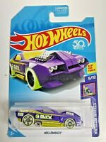 2018 Hot Wheels Treasure Hunt HW Glow Wheels #6/10 Hollowback Purple Black New