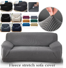 PREMIUM Elastic STRETCH SOFA COVERS Slipcover Protector Settee 1/2/3 Seater