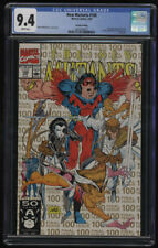 New Mutants #100 2nd Print CGC 9.4 W Pages 1st X-Force ShatterStar Rob Liefeld