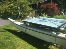 "Hobie Cat Catamaran Sail Boat ""Signature Model"""
