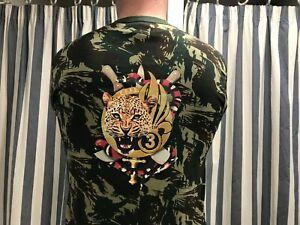 LÉGION ÉTRANGÈRE T-shirt  camo Brésil 3REI / CEFE Jungle Warfare Training M