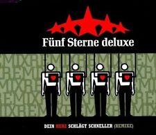 Fünf Sterne Deluxe Dein Herz schlägt schneller-Remixe (1998) [Maxi-CD]