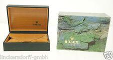 ROLEX ETUI / BOX 68.00.55 - für SUBMARINER / GMT mit Überkarton - 1980er Jahre