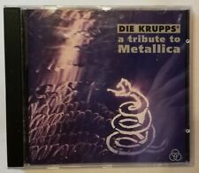 CD | Die Krupps - A Tribute to Metallica | ⭐Top Zustand⭐